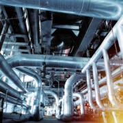 Rohre im Chemiewerk als Investitionsgueter Kreditversicherung
